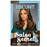 BBLUNT Salon Secret High Shine Creme Hair Colour - Light Golden Brown 5.32, 100g (Free Shine Tonic, 8ml)