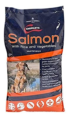 Chudleys Maintenance Salmon With Rice and Vegetables Working Dog Food