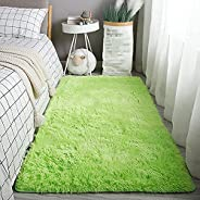 Modern Soft Shaggy Rugs Plush Rug Living Room Bedroom Coffee Table Bedside Carpet Modern Simple And Fresh Hous