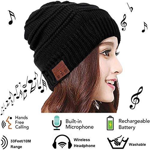Mystery Unisex Gorro Bluetooth - Sombrero Musica Auriculares