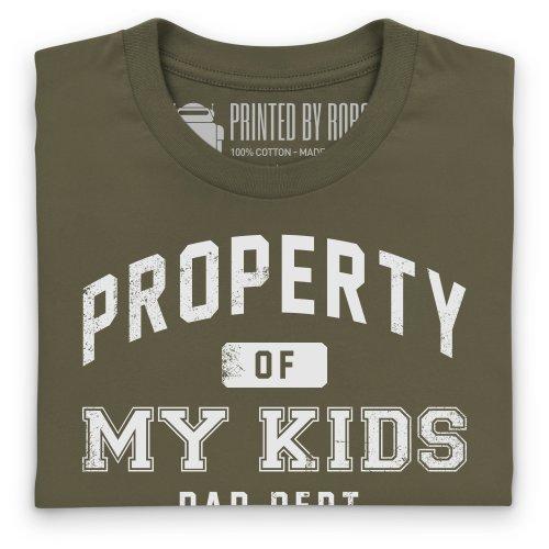 Property Of T-Shirt, Herren Olivgrn