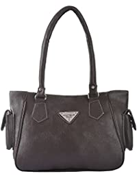 Fostelo Women's Illinois Shoulder Bag (Brown) (FSB-606)