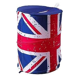 Pop Up Storage Hamper. Union Jack