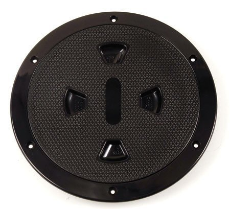 Deck Plate 8 inches-Black by Beckson Marine
