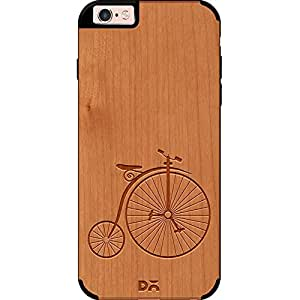 DailyObjects Penny Farthing Real Wood Cherry Case For iPhone 6s Plus