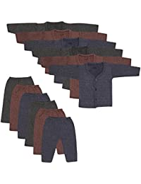 Beunew Thermal Inner wear upper and lower set for boys and girls(Pack of 6)