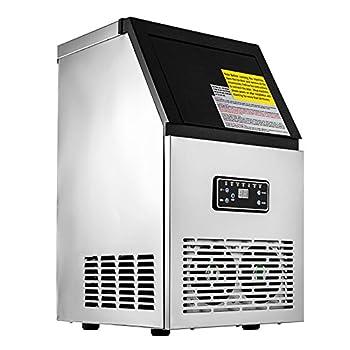 MosaicAL 50KG Commercial Ice Maker Machine Ice Cube Maker Machine Digital Control Refrigeration for Bar Home Supermarkets(50KG)