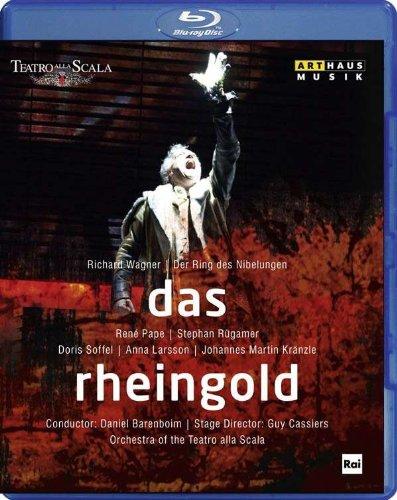 WAGNER: Das Rheingold (Teatro alla Scala, 2010) [Blu-ray] (Riesen Ray Blu)