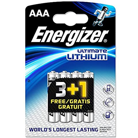 Piles Lithium Aaa - ENERGIZER Ultimate Lithium Lot de 8 piles