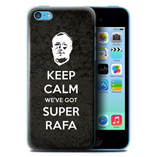 Offiziell Newcastle United FC Hülle / Case für Apple iPhone 5C / Pack 8pcs Muster / NUFC Rafa Benítez Kollektion Ruhig Bleiben
