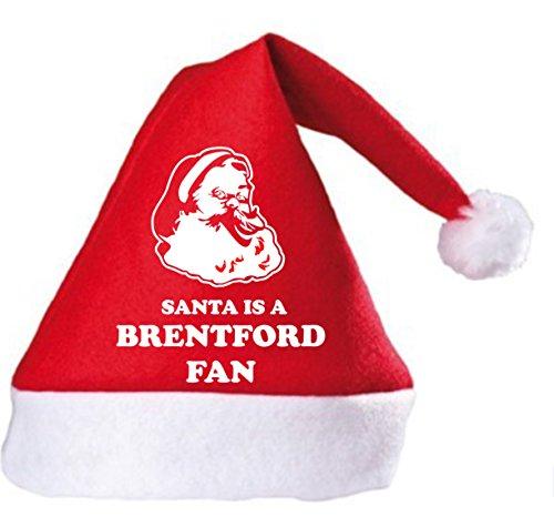 Santa is a Brentford Fan Christmas Hat