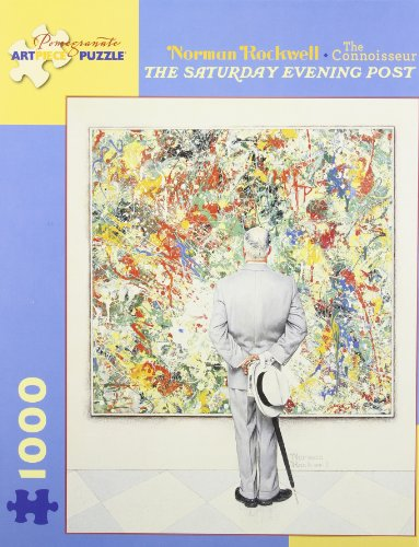 Norman Rockwell - the Connoisseur: 1,000 Piece Puzzle -