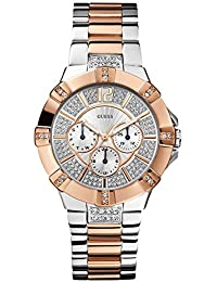 Guess Analog White Dial Women's Watch - W0024L1