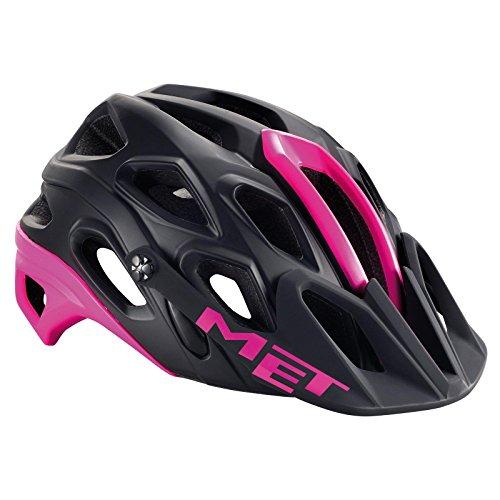 MET Lupo Helmet Black/Fuchsia Kopfumfang 59-62 cm 2016 Fahrradhelm
