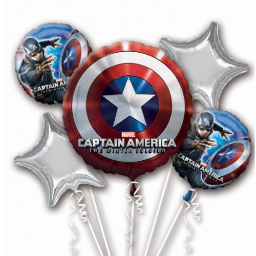 PMU Marvel Captain America The Winter Soldier Party Balloon Bouquet