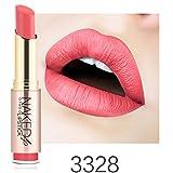 Malloom® Mesdames maquillage de beauté imperméable rouge à lèvres sexy hydratant durable (E)