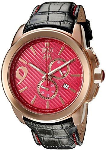 Jivago Men's 'Gliese' Swiss Quartz Stainless Steel Casual Watch (Model: JV1514)
