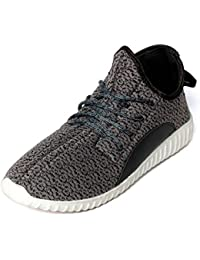 Bacca Bucci Men Black Mesh Sport Shoes