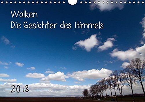 Wolken - Die Gesichter des Himmels (Wandkalender 2018 DIN A4 quer): Wolken und Himmel, eine unerschöpfliche Vielfalt von Bildern (Monatskalender, 14 ... [Kalender] [Apr 01, 2017] Möller, Michael (Meer, Weißen Luft)