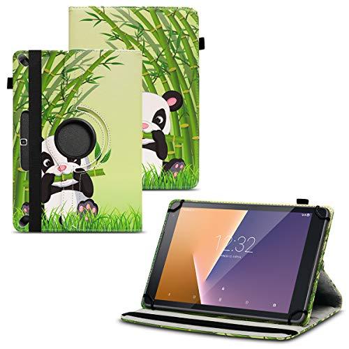 Nauci Tablet Schutz Hülle für Vodafone Tab Prime 6/7 aus hochwertigem Kunstleder mit Standfunktion 360° Drehbar kombiniert Schutz und Design Cover Case, Farben:Motiv 13