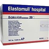 Elastomull Hospital 8 cmx4 m Elastische Fixierbinde Weiß
