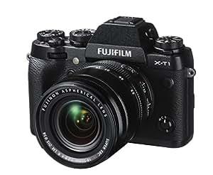 fujifilm x t1 appareil photo hybride ecran lcd 3 7 62 cm 16 3 mpix kit bo tier noir. Black Bedroom Furniture Sets. Home Design Ideas