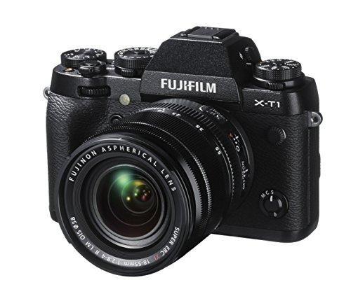 FUJIFILM X-T1 - CAMARA EVIL DE 16 3 MP (PANTALLA 3  GRABACION DE VIDEO  WIFI) NEGRO - KIT CUERPO CON OBJETIVO FUJINON 18 - 55 MM F/2 8 - 4