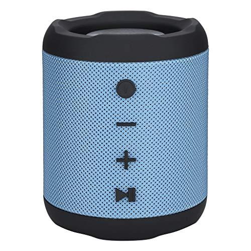 LRWEY Kabellose Bluetooth-Lautspreche, M2 Bluetooth-Lautsprecher Drahtlose, Wasserdichte Mini-HD-Stereo-Sound-Bass-Lautsprecher, MP3-Player Portabler Wireless-Lautsprecher
