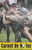 Carnet de Notes: Spécial Rugby | Cahier de Notes | 100 pages lignées | 13,3x20,3cm | Sportif et Passionné de Rugby, Sport Collectif