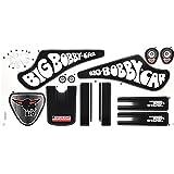 BIG Original Fulda Bobby Car - Aufkleber Sticker Aufkleber-Set (für Classic Modell)
