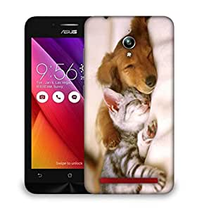 Snoogg Babies Sleeping Designer Protective Phone Back Case Cover For Asus Zenfone GO