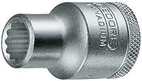 GEDORE Steckschlüsseleinsatz 1/2 Zoll UD-Profil 11 mm,1 Stück, D 19 11