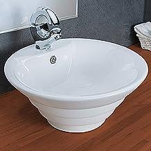 Waschbecken rund einbau  Suchergebnis auf Amazon.de für: Rundes weißes Keramik Waschbecken