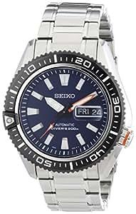 Seiko Herren-Armbanduhr XL Diver's Analog Automatik Edelstahl SRP493K1