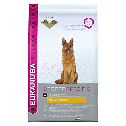 EukanubaPremium Hundefutter für Deutsche Schäferhunde, Trockenfutter mit Huhn, 1er Pack (1 x 12 kg) (Hundefutter Huhn)