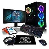 ADMI Gaming RGB PC Package: AMD A10 Quad Core, 8GB DDR4, 1TB HDD