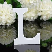 26letras del alfabeto en madera, tamaño grande para colgar en la pared para boda, fiesta, casa, tienda de decoración, como en la imagen, large