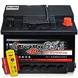 PKW-Batterie inklusive Polfett von BlackMax