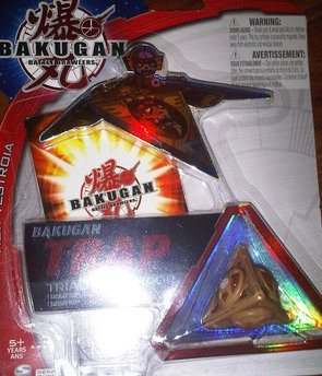 Bakugan Trap New Vestroia Tripod Theta (brown) [Toy]