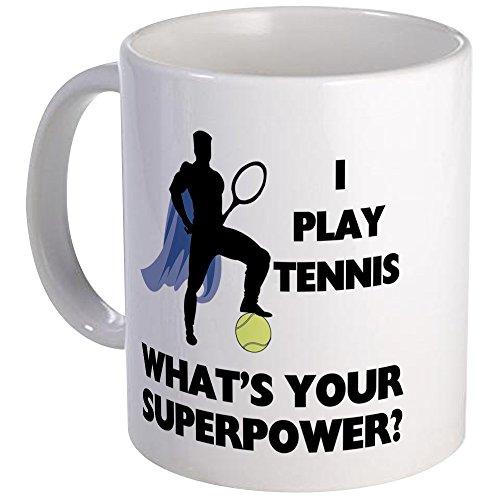 CafePress Tennis Supermacht Tasse-S Weiß -