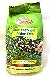 Aussaat- und Pikiererde von Gabi, 15 Liter Beutel, Hobbygärtner, Stecklinge
