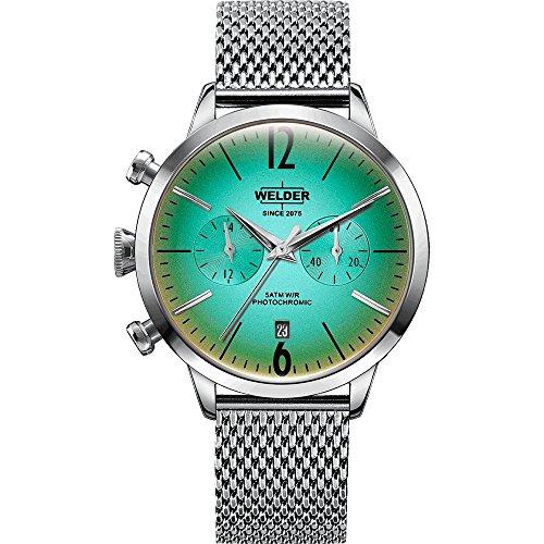 WWRC601 Welder Moody - Reloj para mujer en acero con crono y calendario.