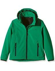 Chaqueta de softshell Disegna, todo el año, niño, color Verde - Pepper Green, tamaño 6 años (116 cm)