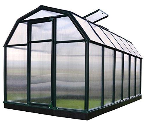 Rion Gewächshaus Gartenhaus Kunststoff SMART 37 // 449x204x198 cm (LxBxH); Treibhaus & Tomatenhaus...