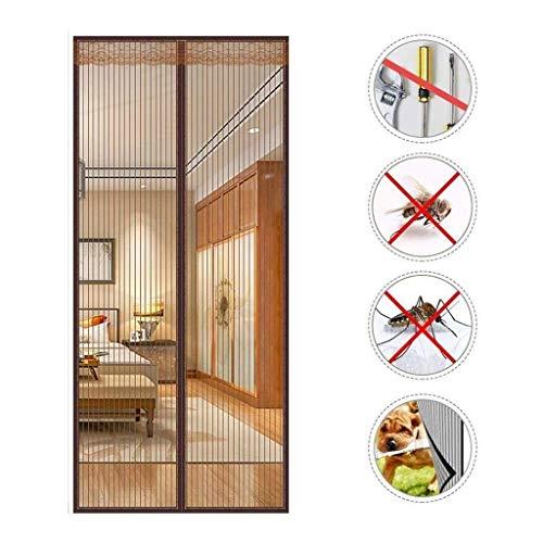 Wghz Feng Screen Doors, Magnetische Fliegenschutztür Automatische Schließung, magnetische Adsorption, Wohnzimmer, Terrassentür - 80X220cm