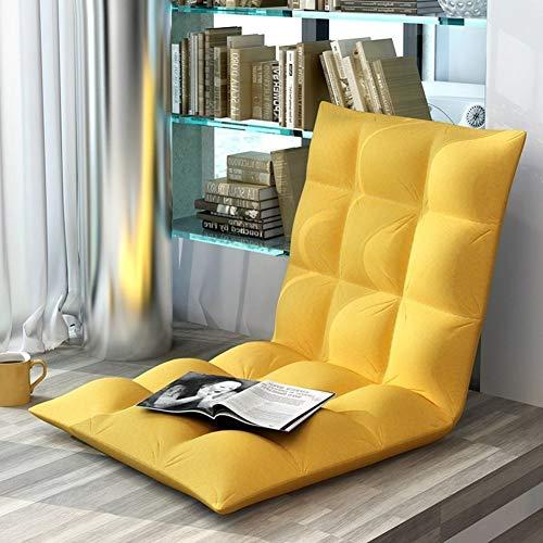 GX&XD Falten Faul Sessel Sofa,Plüsch gefüllt Sofa-betten Sitzkissen Robuste stahlkonstruktion Polstermöbel Wohnzimmer Möbel Lounge Chair Machine waschbar Cover-A -
