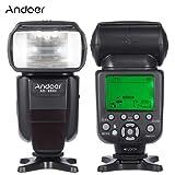 Andoer ad-980ii E-TTL HSS 1/8000s Maestro Esclavo GN58Flash Speedlite para Canon 5d mark iii/5d Mark II/6d/5d/7d/60d/50d/40d/30d/700d/100d/650d/600d/550d/500d/450d cámara réflex digital