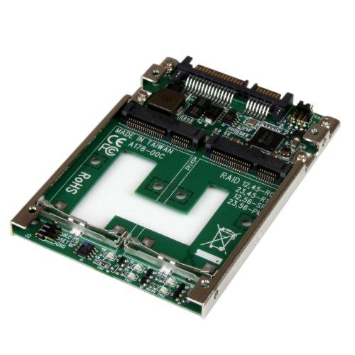 startechcom-25sat22msat-adaptador-de-ssd-msata-doble-a-sata-raid-de-25