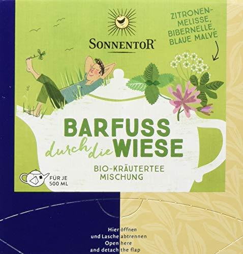 Sonnentor Barfuß durch die Wiese, Bio Kräutertee, Kannenbeutel, 1 Pack (1 x 21,6 g)