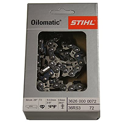 STIHL Sägekette Vollmeißel 1,6mm 3/8'' 50cm 72GL,RS3
